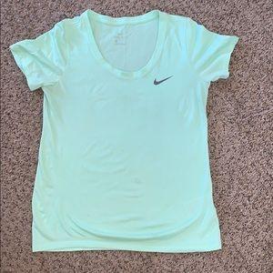 Mint green Nike t-shirt